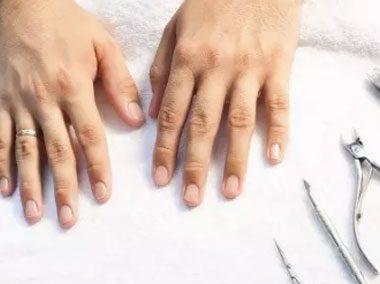 Manicure męski klasyczny bez malowania