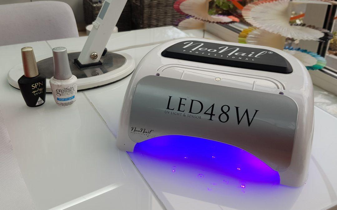 Lampa led do manicure hybrydowego Neo Nail 48W